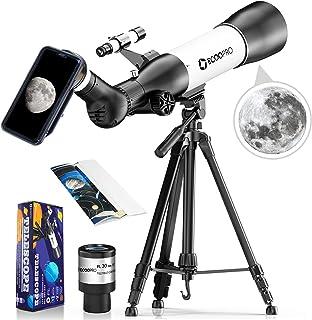 2021Il più nuovo telescopio astronomico kit, calibro oversize professionale telescopio bambini adulti portatile, con ocula...