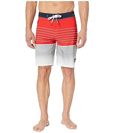 Quiksilver Highline Slab 20 Boardshorts (High Risk Red) Men
