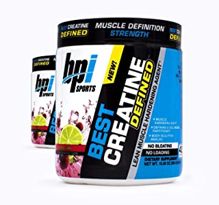 BPI Sports Best Creatine Defined Lean Muscle Hardening Agent, 40 Servings Each (2 Pack) (Cherry Lime)