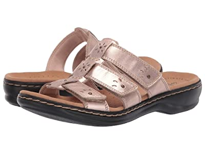 Clarks Leisa Spring (Rose Gold Leather) Women