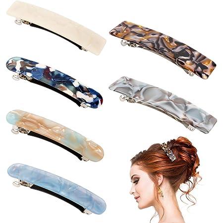 Farben Haarspangen Haarklammer Haarschmuck 6 Haarclips Haarclip versch