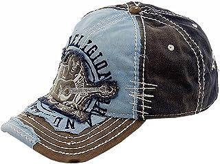 18beac69 True Religion New Big Buddha Distressed Army Trucker Hat Cap/Tr#1101 (Dark