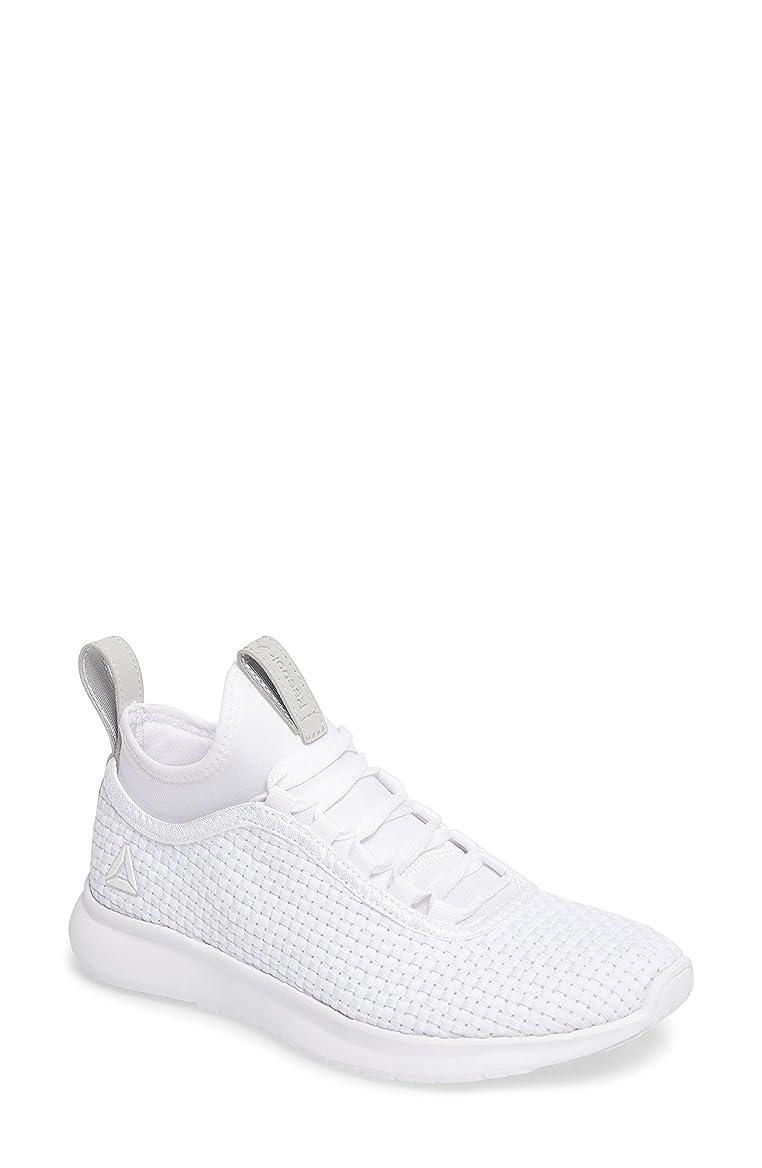 独特の利用可能リラックスしたリーボック シューズ スニーカー Reebok Plus Runner ULTK Sneaker (Women) White/ Gre [並行輸入品]