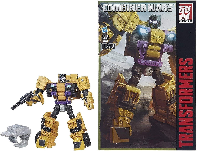 Transformers Generations Combiner Wars Deluxe Class Swindle Figure