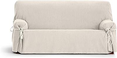 Eysa Loira Protect Imperméable et Respirant Housse de canapé 65% Polyester 35% Coton, écru, 180-230 cm