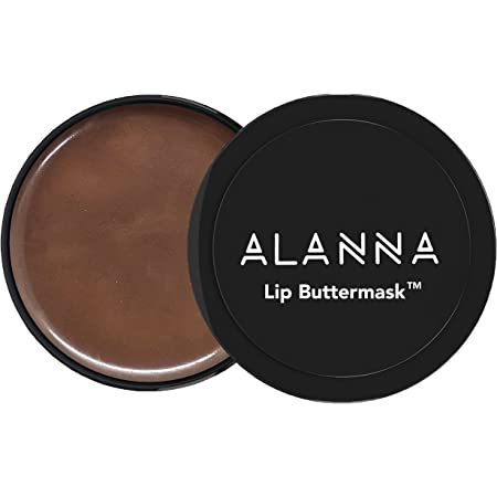 ALANNA Chocolate LIP HYDRATING MASK / Balm for CHAPPED LIPS, Super Ingredient Ghana Cocoa, 15g