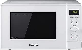Panasonic NN-GD34H - Microondas con Grill (1000  W, 23  L, 6 niveles, Grill Cuarzo 1100  W, Plato Giratorio 285  mm, Control tácti L, 13 modos, Turbo Defrost, tecnología Inverter) Blanco
