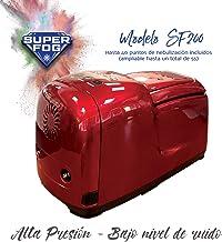SUPERFOG Kit de nebulización con 40 Puntos de enfriamiento. DIY Patio Mister. Refrigeración por Agua pulverizada. Neblina refrescante para Patios, terrazas y áreas Exteriores Desde 5 hasta 100 m2.