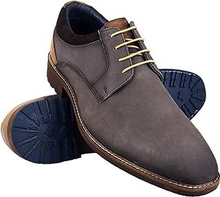 c07486fc3c64 Zerimar Zapatos Hombre Vestir   Zapatos Clasicos Hombre Cuero   Calzado  Elegante Cuero   Zapatos de