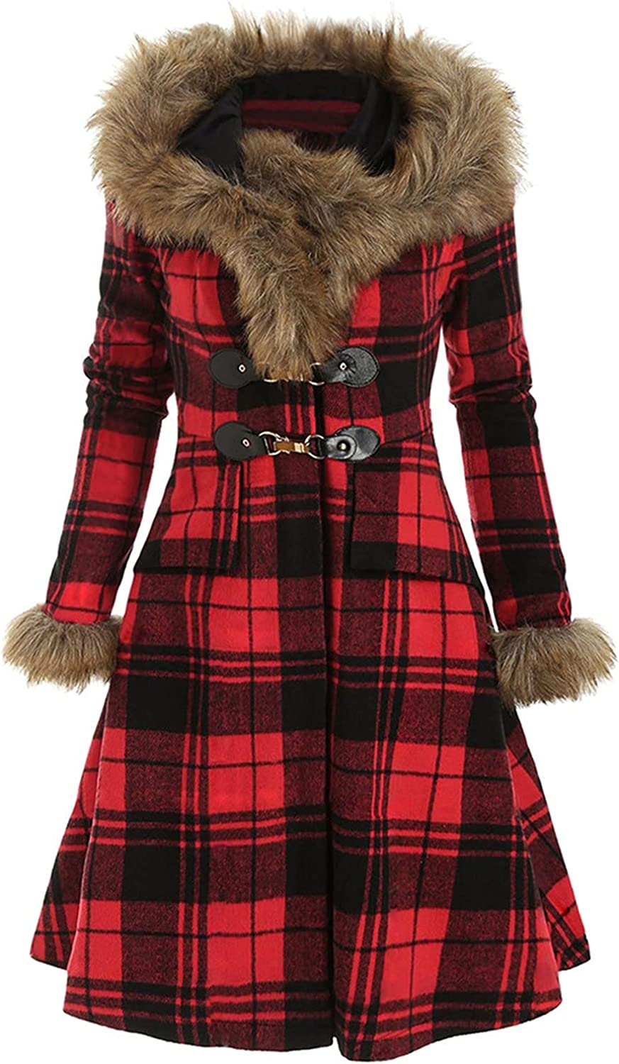 Plaid Graphic Coat Detroit Mall for Women Fashion Loose discount Tops Swe Fit Cardigan