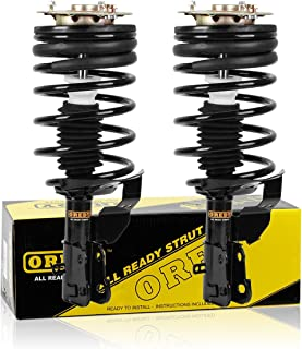 OREDY Front Pair Complete Struts Assembly Shock Struts Coil Spring Assembly 171771 11250 Compatible with Chevrolet Celebrity/Pontiac 6000/Oldsmobile Cutlass Ciera/Buick Century 1987 1988 1989 1990