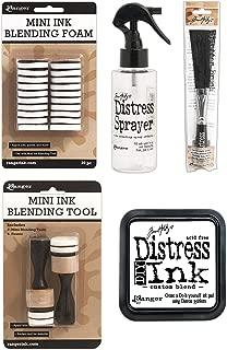 Tim Holtz Distress - Sprayer, Splatter Brush, DIY Ink Pad and Blending Tool Set