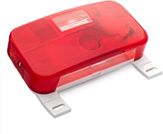 Lumitronics Red Surface Mount Stop/Turn/Tail Light, License Bracket, and License Light (White)