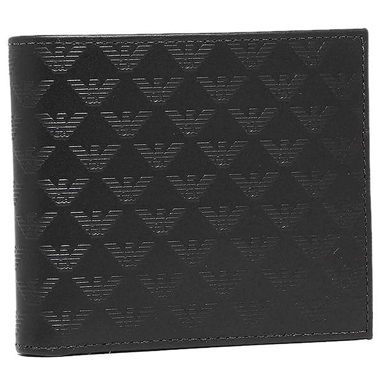 でもめまいアダルト(エンポリオ?アルマーニ) EMPORIO ARMANI 財布 二つ折り メンズ レザー YEM122 [並行輸入品]