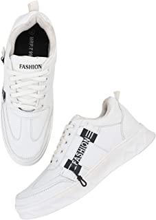 AROOM Mens/Boys Perfect Stylish Light Weight Outdoor Trendy Fashionable and Comfortable Running Shoes with Attractive Desi...
