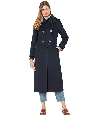 MACKAGE Elodie Wool Coat (Navy) Women
