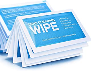 Monitor Wipes - Pre-Moistened Electronic Wipes, Surface Cleaning for Computers, Cell Phones, Sunglasses, LCD Screens, Monitor - Quick Drying, Streak-Free, Ammonia-Free - Screen Wipes
