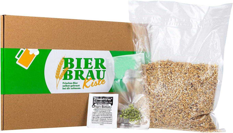 Braupartner - Caja de destilación de cerveza, recarga, materias primas auténticas, para volver a pedir y volver a preparar cerveza con el set de elaboración de cerveza.