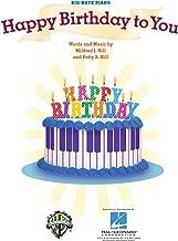 Happy Birthday To You - BIG NOTE PIANO Sheet Music (Easy Piano)