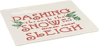 Lenox Square Tidbit Plate, Dashing Through The Snow