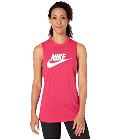 Nike Sportswear Tank Essential Muscle Futura (Wild Cherry) Women