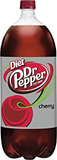 Diet Dr Pepper Cherry Soda, 2 Liter Bottle