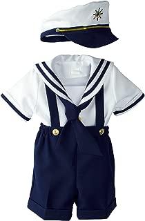 sailor suit baby boy