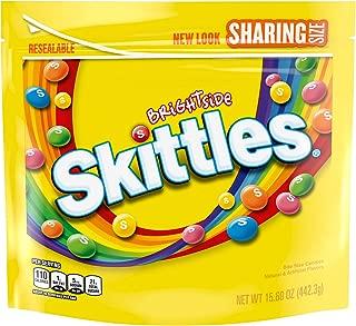 Skittles Brightside Sharing Size Candy, 15.6 Oz Bag, Brightside, 15.6 Oz