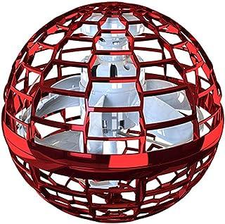 Flynova Pro Boomerang, 360° Rotation and Luminous LED Lights, Gyroscope Flying Ball, Hand-Controlled Mini Drone, Mini Manu...
