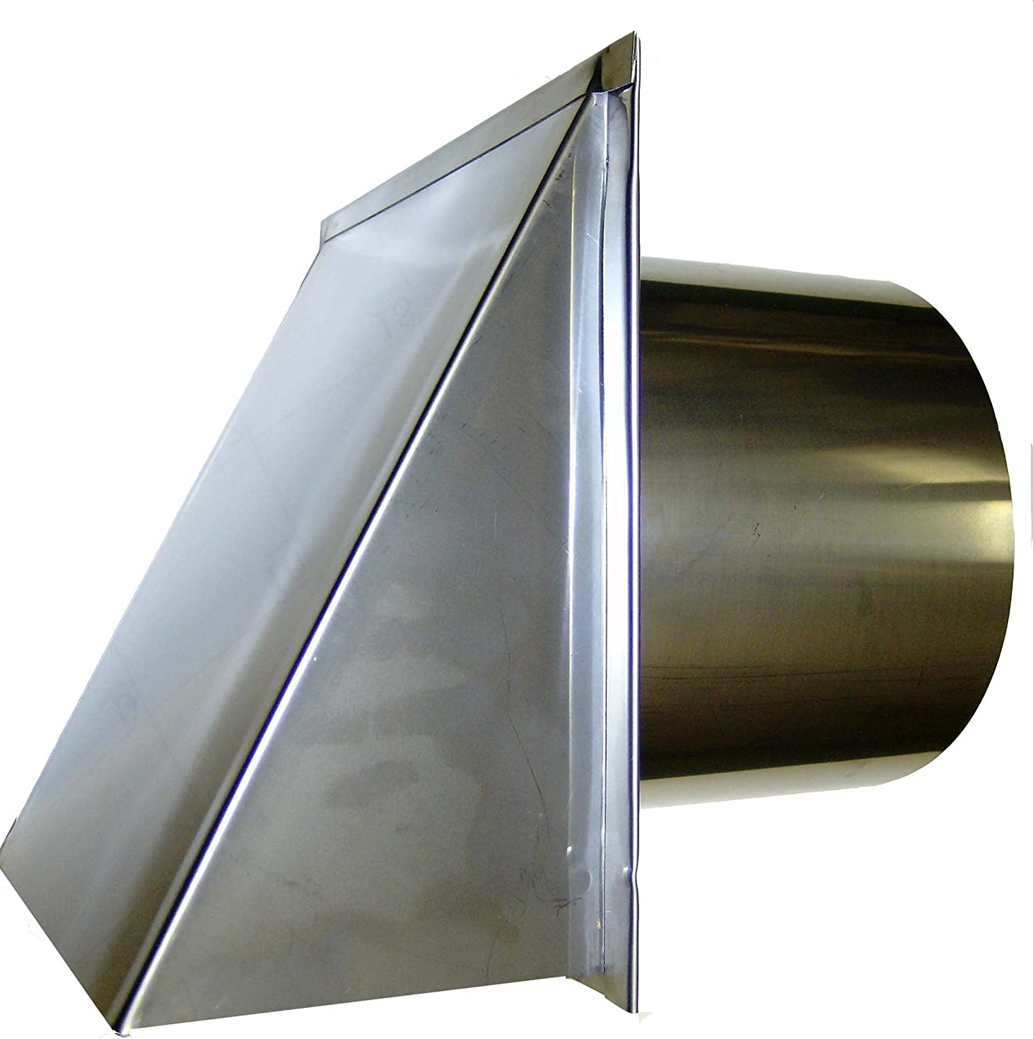 8 Inch Stainless Steel Exterior Side Damper with Sc Popular shop is the lowest price Ranking TOP9 challenge Cap and Wall