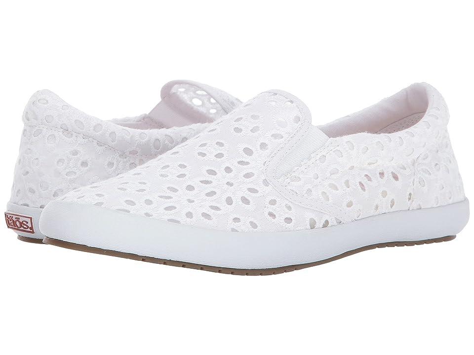 Taos Footwear Dandy (White Lace) Women