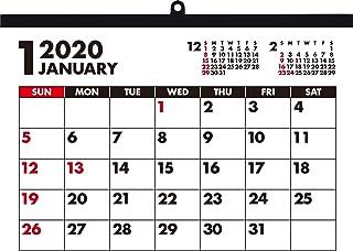 パインブック 2020年 カレンダー 壁掛け B4 フーツラ X-70