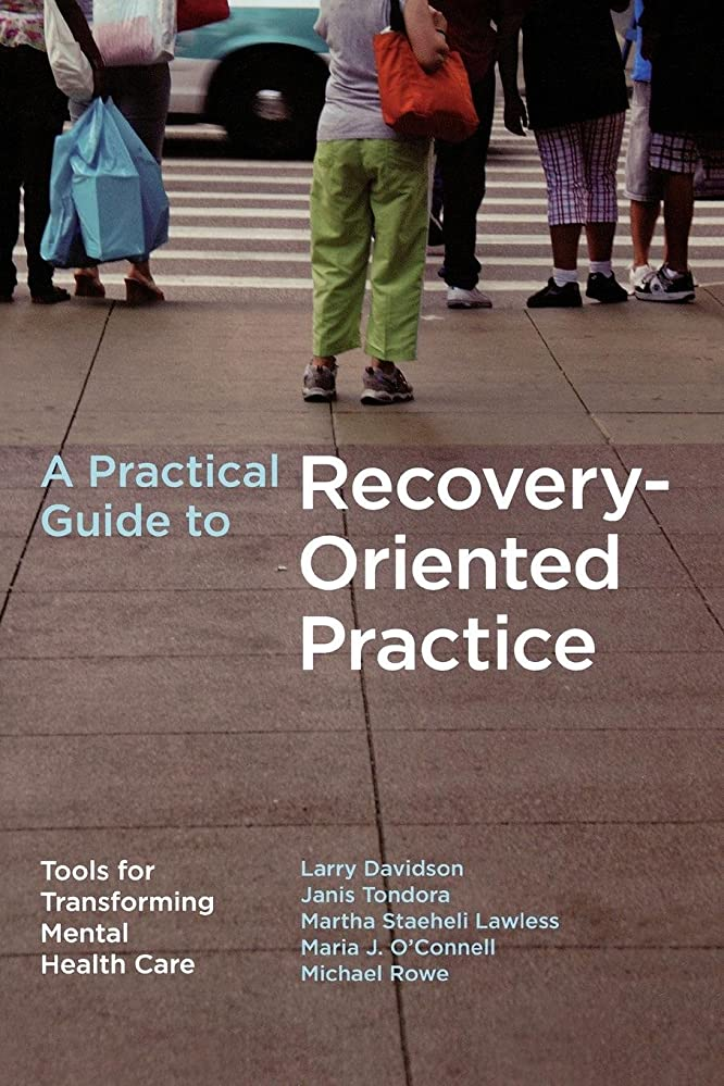 師匠クラシックグリットA Practical Guide to Recovery-Oriented Practice: Tools for Transforming Mental Health Care