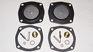 Eagleggo (2) Pack Carb Kit For Tecumseh Jiffy Ice Auger Model 30 And 31