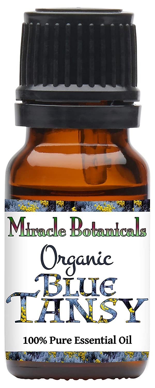 スピード対応 全国送料無料 Miracle Botanicals Organic Blue Tansy - 即納送料無料 Essential Pure 100% Oil