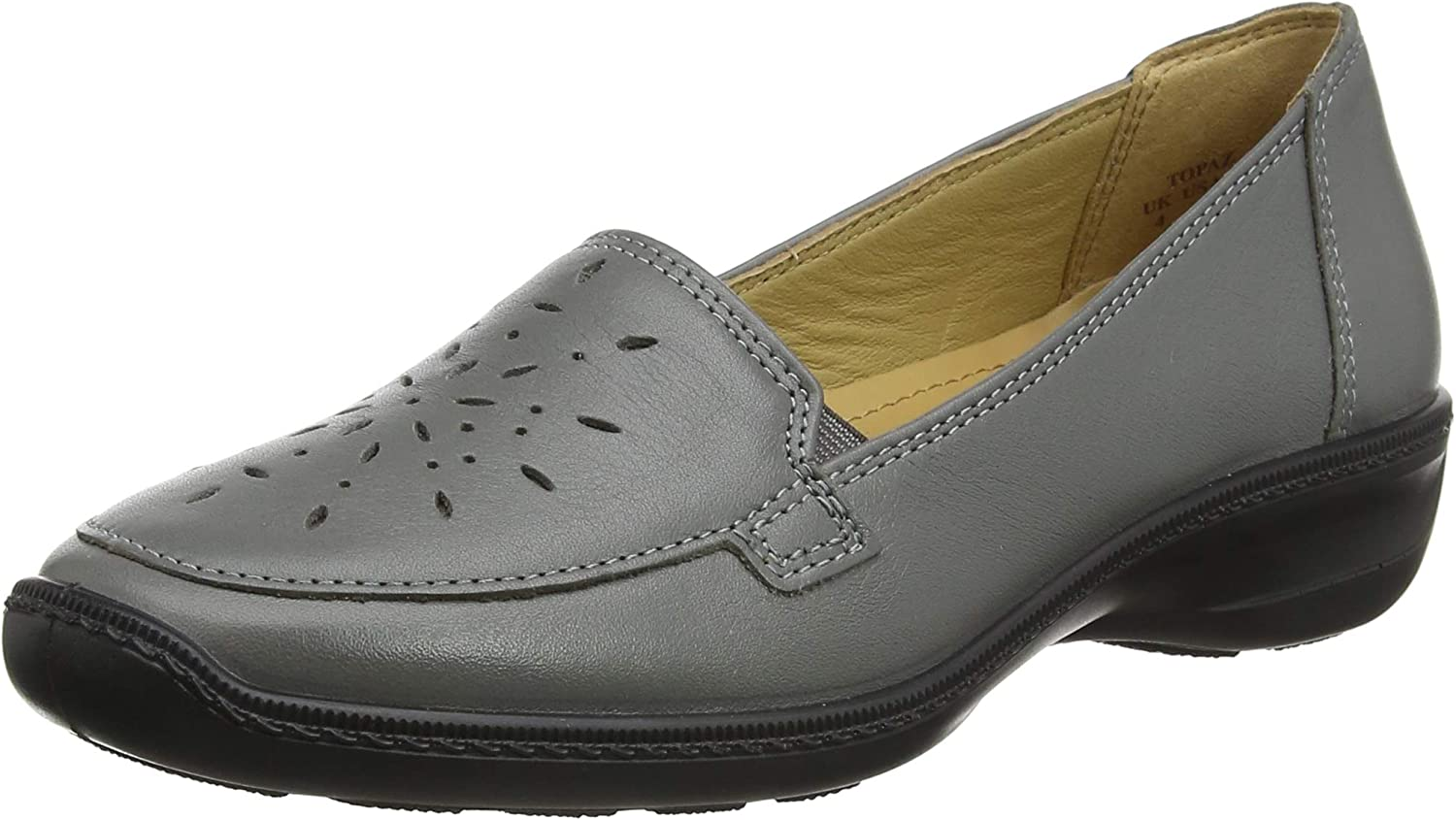 Los Angeles Mall Hotter Women's Topaz Loafers 9 Popular brand in the world Grey Urban 385