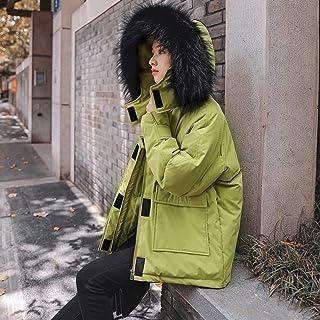 YOUJIAA Donna Cappotto Trench Lungo Invernale Caldo Morbido Parka Giacca in Pelliccia Sintetica
