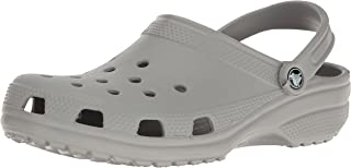 crocs Unisex Classic Clog, Light Grey, 11 US Men / 13 US Women