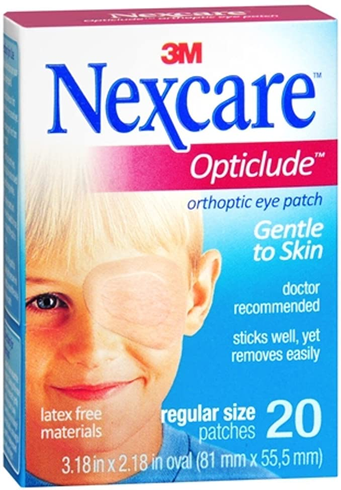 Nexcare Opticlude Orthoptic Eye Patches Regular 20 Each by Nexcare