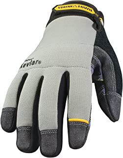 Youngstown Glove 05-3080-70-XXL General Utility lined with KEVLAR Glove XXLarge, Gray