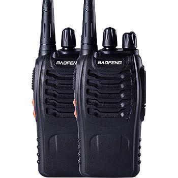 Baofeng BF-888s UHF High Power Intelligent FM Illumination Flashlight Walkie Talkie Two-Way Radio (Original Product Sold by sEC-spydo Electronics Company Only)