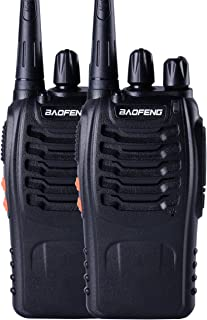 Baofeng BF-888s UHF High Power Intelligent FM Illumination Flashlight Walkie Talkie Two-Way Radio(2 Pack)
