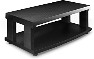 Aleratec 2-Tier LCD | LED TV Stand Entertainment Rack