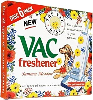 FIND A SPARE 1X Pack Vac 6 Fresheners Summer Meadow Extra Strength Powerful Scent For All Vacuum Hoover Handheld Bagless A...