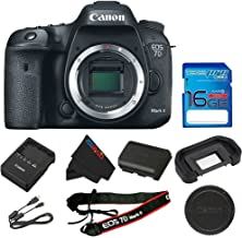 Canon EOS 7D Mark II DSLR Camera (Body Only) + 16GB I3ePro SD Card