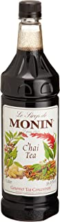 Monin Chai Syrup, 33.8-Ounce Plastic Bottles (Pack of 4)