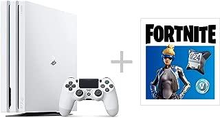 PlayStation 4 Pro グレイシャー・ホワイト 1TB フォートナイト ネオヴァーサバンドル (CUH-7200BB02)【特典】オリジナルカスタムテーマ (配信)