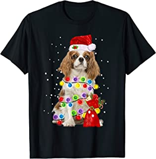 Cavalier King Charles Spaniel Dog Funny Christmas Gift Shirt T-Shirt