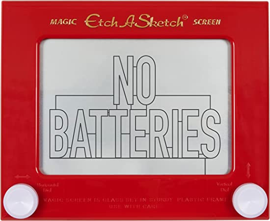 Etch A Sketch, Classic Red Drawing Toy with Magic Screen