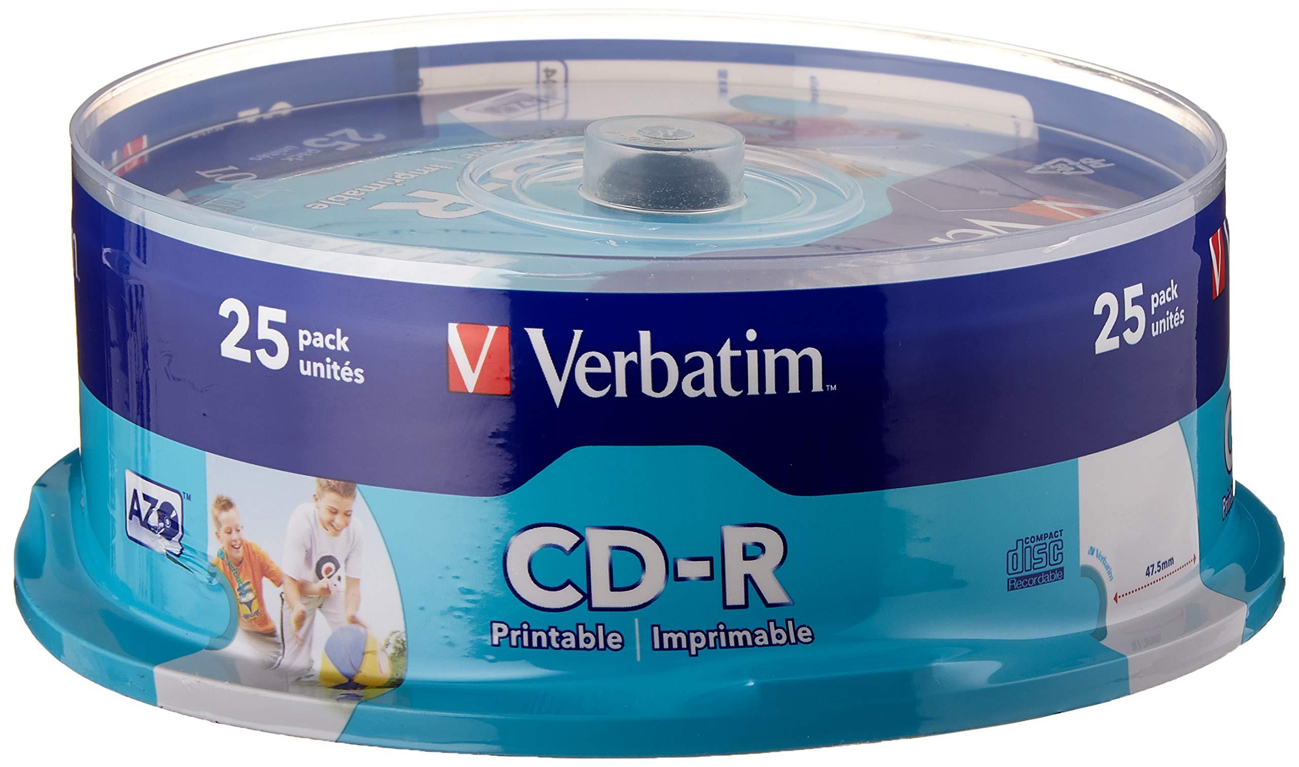 Verbatim 43439 - CDs vírgenes (25 unidades): Amazon.es: Electrónica